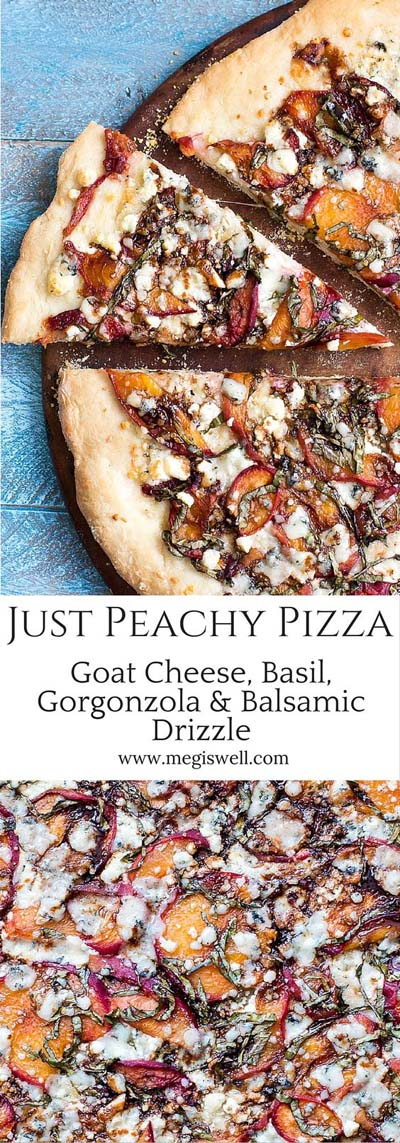 35 Homemade Pizza Recipes: Just Peachy Pizza