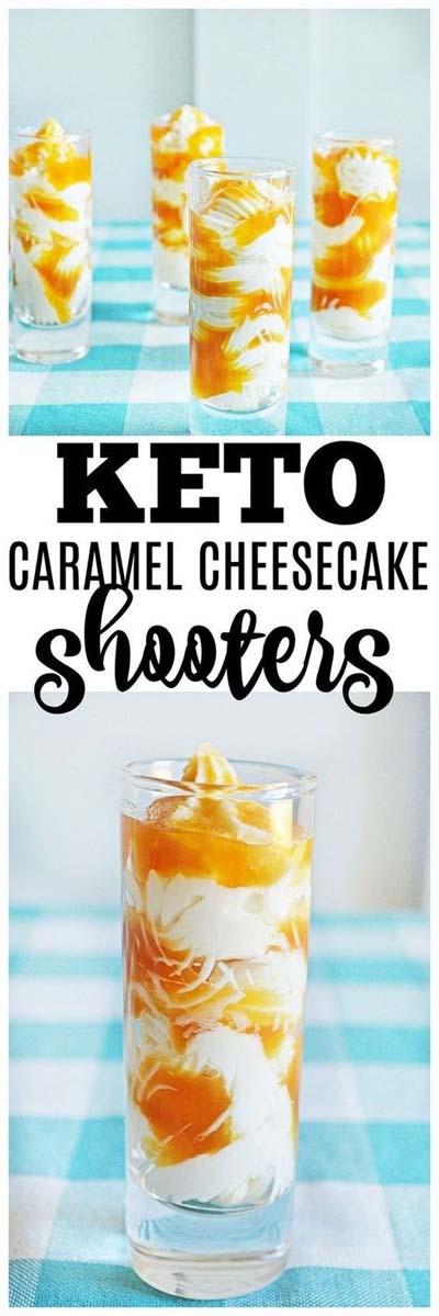 20 Keto Dessert Recipes: Keto Cheesecake Shooters