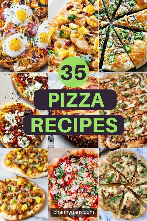 Skip takeout with these delicious homemade pizza recipes. There is something for everyone in these 35 homemade pizza recipes!