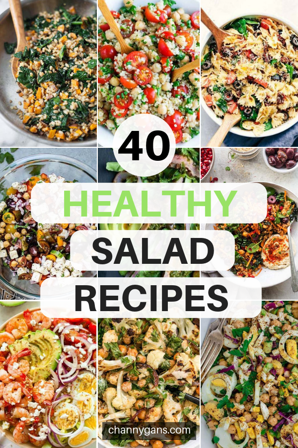 If you are looking for a light meal then these salad recipes are what you're looking for! Try these delicious and healthy salad recipes today.