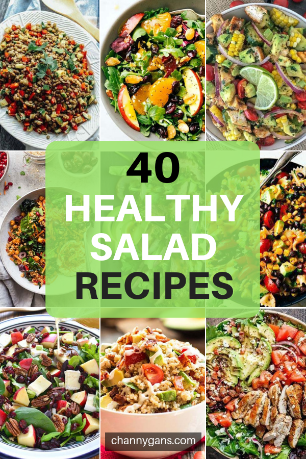 40 Healthy Salad Recipes