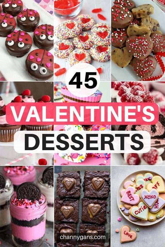 Surprise your loved one with these cute valentines desserts! Or you know, just make them for yourself!