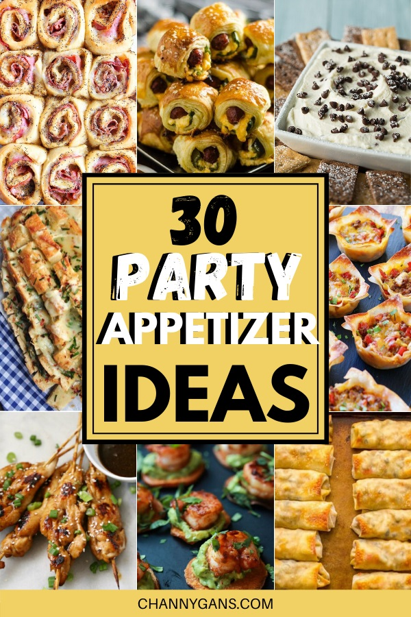 In need of some food ideas for your party? These 30 party appetizers are perfect for your next party, whatever it may be, from a New Years Eve party to game day - these party appetizers won't disappoint!