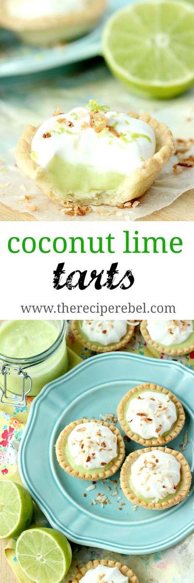 20 Tasty Tart Recipes: Coconut Lime Tarts