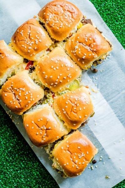 20 Slider Recipes: Copycat Big Mac Sliders