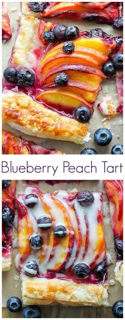 20 Tasty Tart Recipes: Easy Blueberry Peach Tart