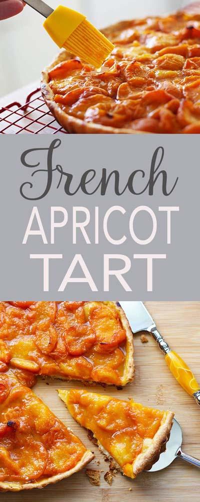 20 Tasty Tart Recipes: French Apricot Tart