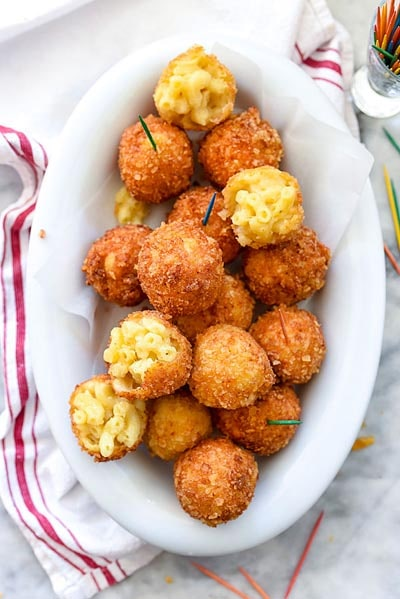 25 Super Bowl Snacks: Fried Mac And Cheese Balls