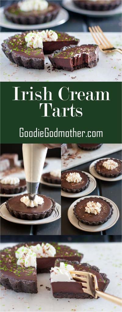 20 Tasty Tart Recipes: Irish Cream Tarts