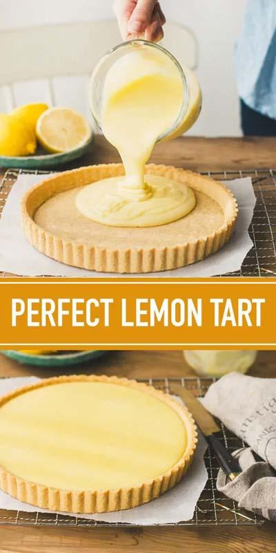 20 Tasty Tart Recipes: Lemon Tart