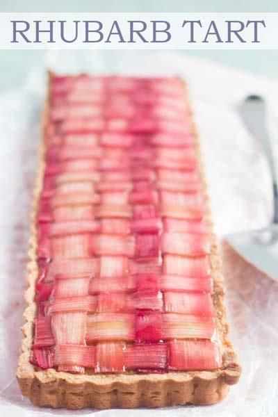 20 Tasty Tart Recipes: Rhubarb Tart