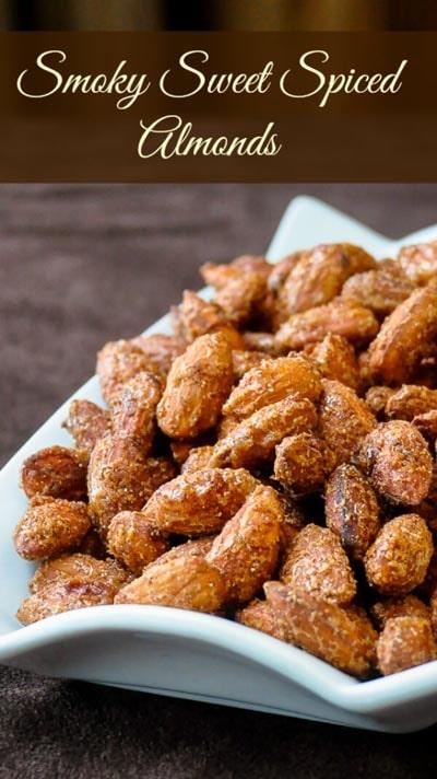 25 Super Bowl Snacks: Smoky Sweet Spiced Almonds