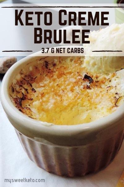 20 Keto Desserts: Ultimate Keto Crème Brûlée