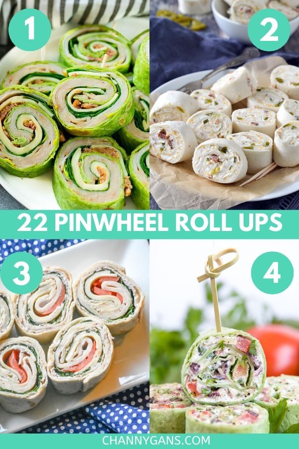 Appetizers and finger foods are great to have on game day or for a party. Try some of these 22 pinwheel roll ups as an appetizer or snack for your next game day party.