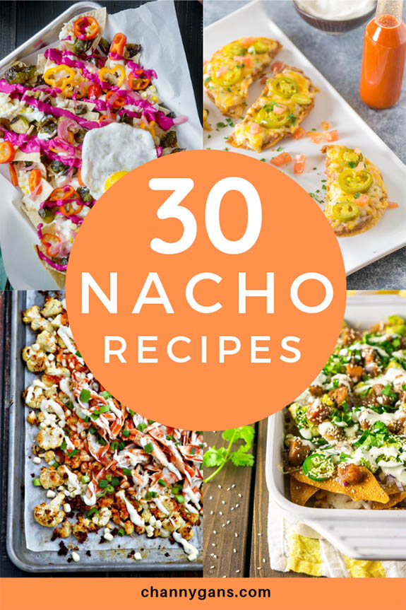 30 Nacho Recipes. Need to bring something to a party or need a quick and easy recipe? These nacho recipes are perfect for a party or dinner and are fairly simple to make.