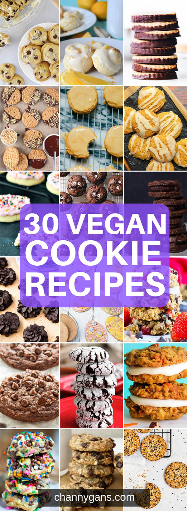 Craving a certain type of cookie but they are all non-vegan? Turns out you can totally make a vegan version of your favorite cookies! Try some of these delicious vegan cookie recipes!