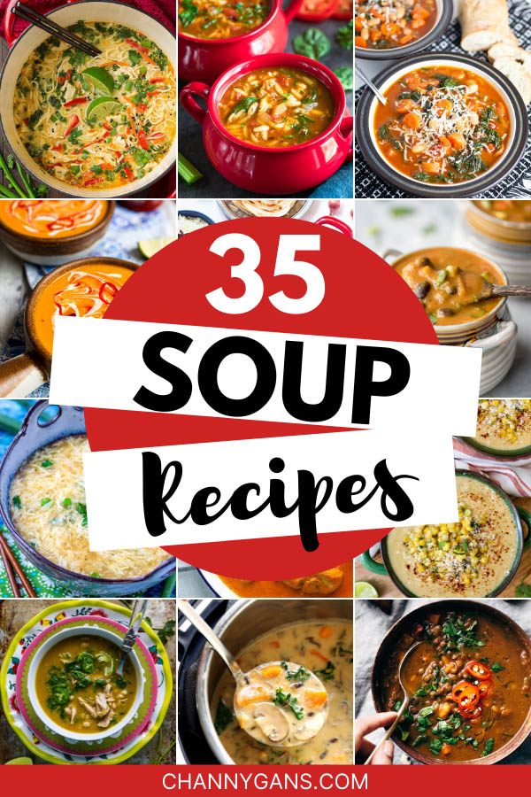 What better way is there to warm up than with some tasty soup? Stay warm and cozy on cold nights with these 35 delicious soup recipes.