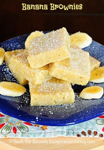 50 Brownie Recipes: Banana Brownies