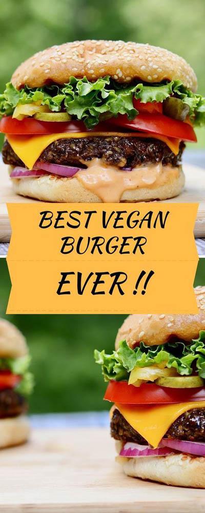 21 Burger Recipes: Best Veggie Burger Recipe Ever