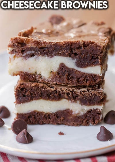 50 Brownie Recipes: Cheesecake Brownies