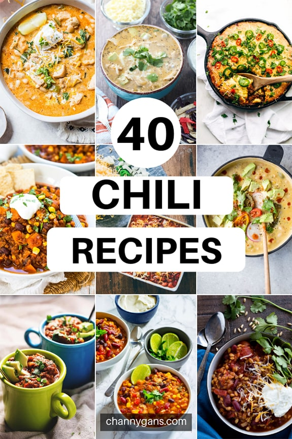 40 Delicious Chili Recipes. If you are craving some comfort food on a cold day, then look no further than these tasty chili recipes to keep you warm.