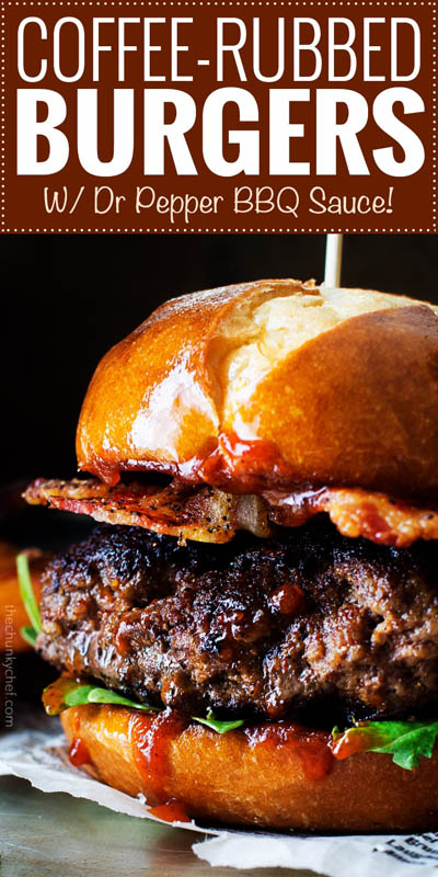 21 Burger Recipes: Coffee Rubbed Burgers