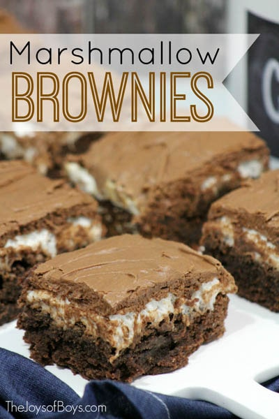 50 Brownie Recipes: Delicious Marshmallow Brownies