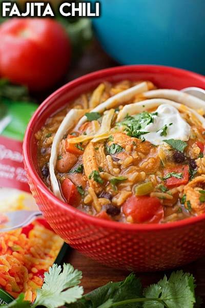 40 Chili Recipes: Fajita Chili