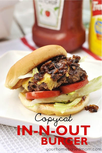 21 Burger Recipes: In N Out Burger Recipe