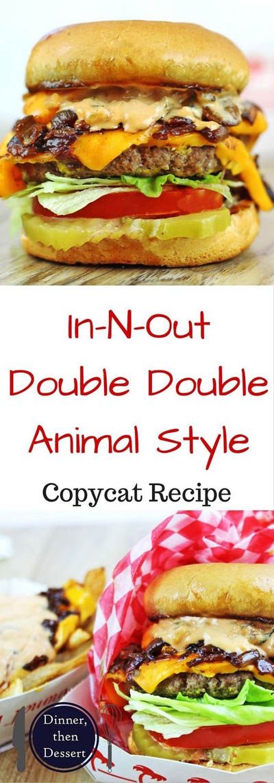 21 Burger Recipes: In-n-out Double Double – Animal Style