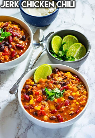 40 Chili Recipes: Jerk Chicken Chili