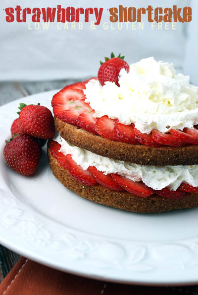 20 Keto Valentines Dessert Recipes: Low Carb Strawberry Shortcake