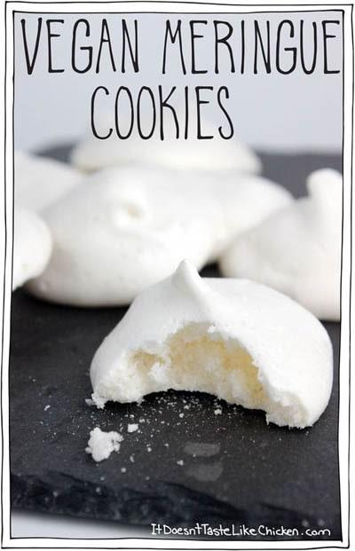30 Vegan Cookie Recipes: Meringue Cookies