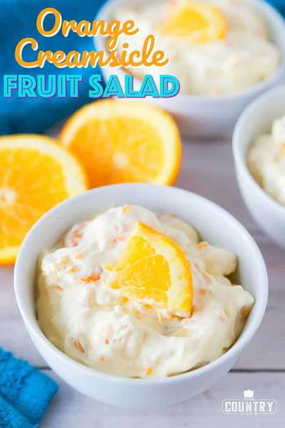 20 Fruit Recipes: Orange Creamsicle Fruit Salad