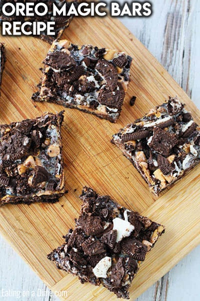 28 Magic Cookie Bars: Oreo Magic Bars Recipe