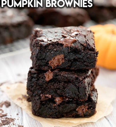 50 Brownie Recipes: Pumpkin Brownies