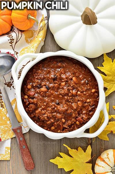 40 Chili Recipes: Pumpkin Chili