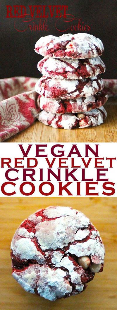 30 Vegan Cookie Recipes: Red Velvet Cookies