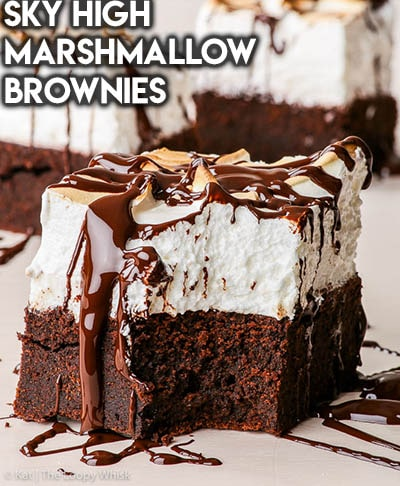 50 Brownie Recipes: Sky High Marshmallow Brownies