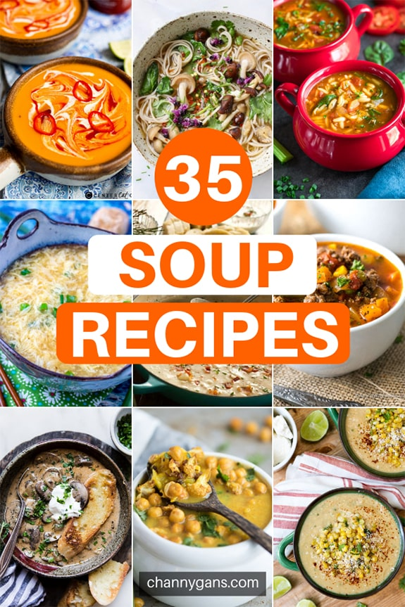 What better way is there to warm up than with yummy soup? Stay warm and cozy on cold nights with these 35 delicious soup recipes.