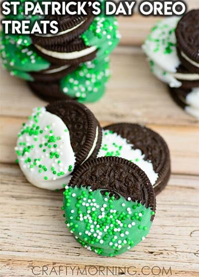 50 St Patrick's Day Desserts: St Patrick's Day Oreo Treats