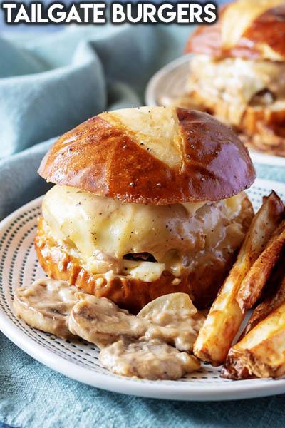 21 Burger Recipes: Tailgate Burgers