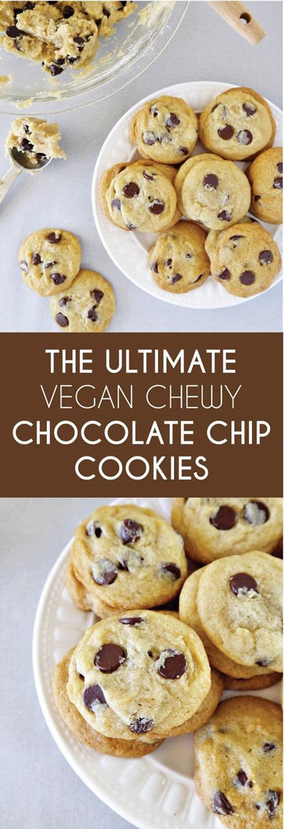 30 Vegan Cookie Recipes: The Ultimate Chewy Chocolate Chip Cookies