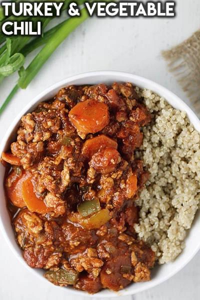 40 Chili Recipes: Turkey & Vegetable Chili