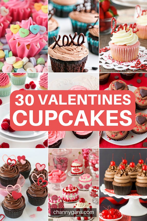 30 Valentines Day Cupcakes. Get ready for love at first bite with these cute and delicious Valentines Day Cupcakes! Surprise your loved ones with these cupcakes that are a perfect Valentines Day dessert!