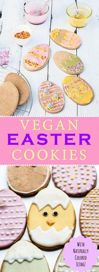 30 Vegan Cookie Recipes: Vegan Easter Cookies