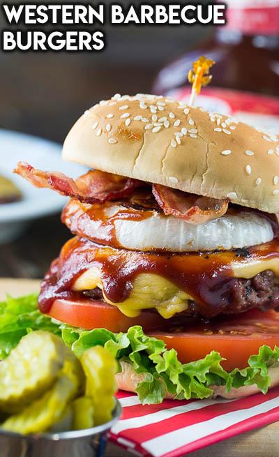 21 Burger Recipes: Western Barbecue Burgers