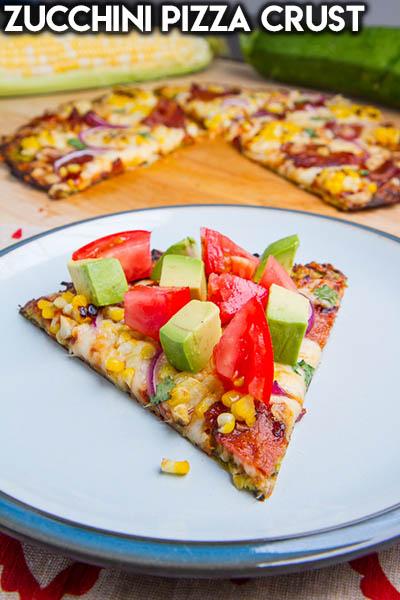 16 Keto Pizza Recipes: Zucchini Pizza Crust