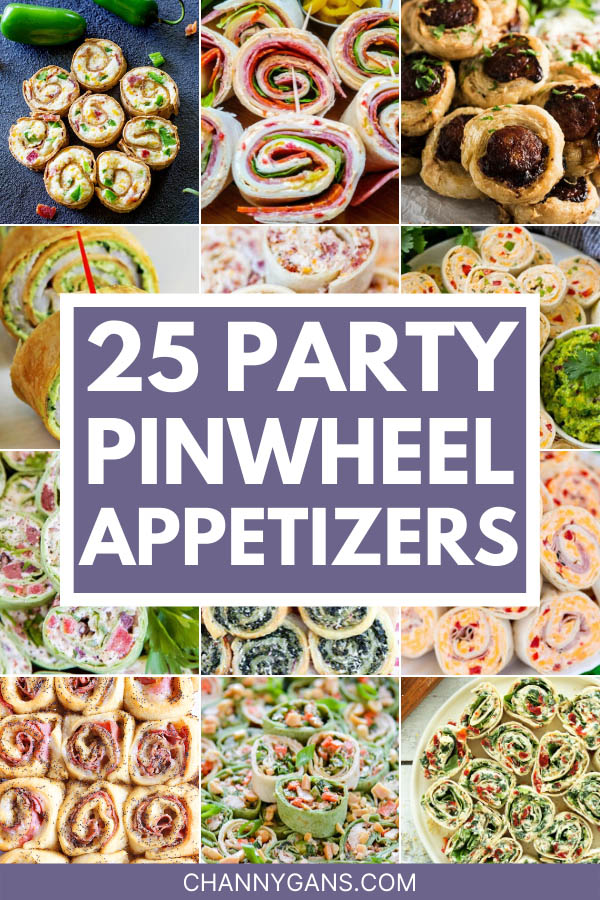 25 Pinwheel Appetizer Roll Up Recipes. Pinwheel appetizers are the perfect party food to feed a crowd. They are simple and easy to make, and they always taste delicious!