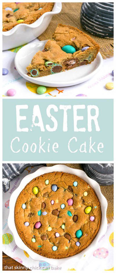 20 Easter Dessert Ideas: Easter Cookie Cake